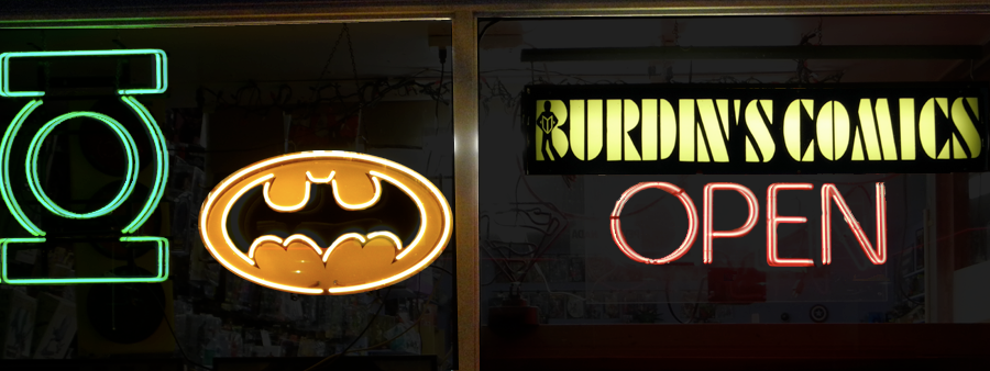 Welcome to Burdin's Comics